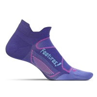 Feetures Elite Ultra Light No Show Tab - Deep Purple + Periwinkle