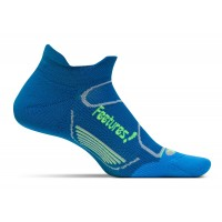 Feetures Elite Light Cushion No Show Tab - Pacific Blue + Reflector