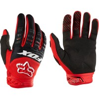 Fox Racing Dirtpaw Race Gloves 2014 - Red - Large