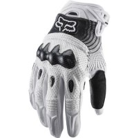 2012 Fox Racing Bomber Gloves - Men - Size L(10-11cm) - White Color