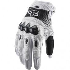2012 Fox Racing Bomber Gloves - Men - Size L(10-11cm) - White Color