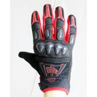 2012 Fox Racing Bomber Gloves - Men - Size L(10-11cm) - Red Color