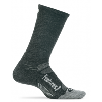 Feetures Elite Merino+  Light Cushion Crew - Charcoal