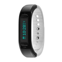 Soleus Go Activity Tracker Fitness Band - Black/White