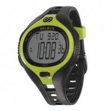 Soleus Dash Large Men - Black/Lime