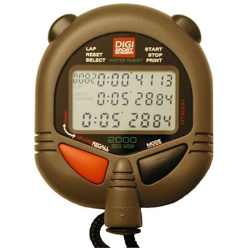 Digi Sport USB stopwatch 2000 lap memory DT2000