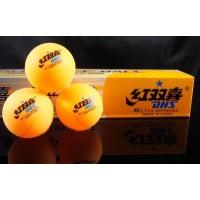 DHS 1 star Orange Ping Pong Ball