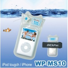 DiCAPac WPMS10 iPod iPhone Waterproof case plus Earphone