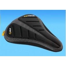 Velo Plush Bike Seat Cover Panini 171 - Gel Padded - Extra Comfort & Non-Slip