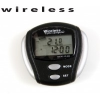 Junsd Wireless Bicycle Computer JS-204 15 Functions - Black, 0.41x0.52x0.17cm