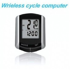 Junsd Wireless Bicycle Computer JS-213 Slim Design and Flexible Fitting - Black, 0.41x0.52x0.17cm