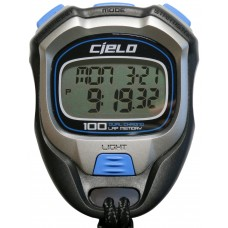 Cielo WT058 100 Laps Dual Chrono Professional Stopwatch with Backlight - 1 Year Warranty